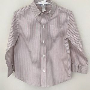 Janie and Jack Striped Button Down